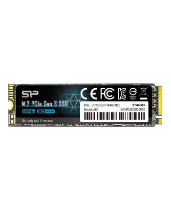 Dysk Silicon Power Ace A60 SP256GBP34A60M28 (256 GB ; M2; PCIe Gen3 x4)