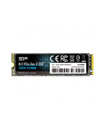 Dysk Silicon Power Ace A60 SP512GBP34A60M28 (512 GB ; M2; PCIe Gen3 x4)