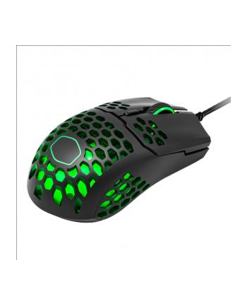 Mysz komputerowa Cooler Master MM711 RGB MM-711-KKOL1 (optyczna; 16000 DPI; kolor biały)