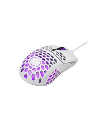 Mysz komputerowa Cooler Master MM711 RGB MM-711-WWOL1 (optyczna; 16000 DPI; kolor biały)