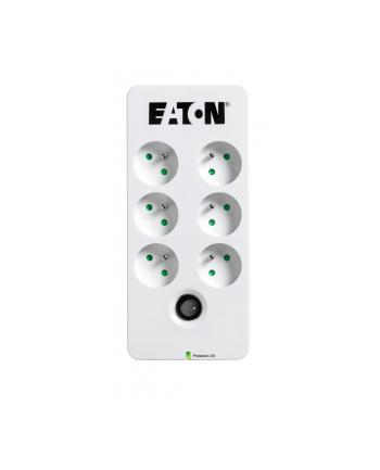 Listwa przeciwprzepięciowa EATON PB6F (6 x UTE; 10 A; kolor biały)