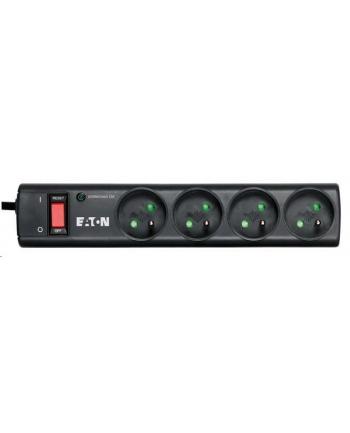 Listwa przeciwprzepięciowa EATON PS4F (4 x UTE; 10 A; kolor czarny)