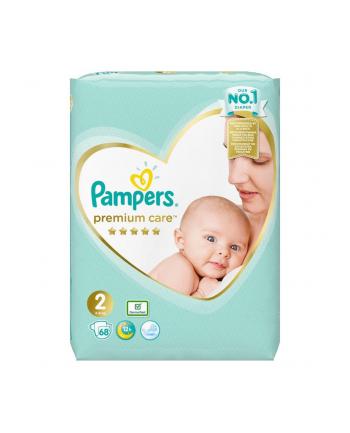 Pampers Zestaw pieluch Premium Care VP 2 (4-8 kg) 68