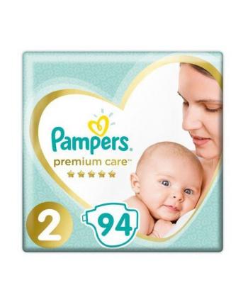 Pampers Zestaw pieluch Premium Care Jumpo Pack 2 (4-8kg) 94