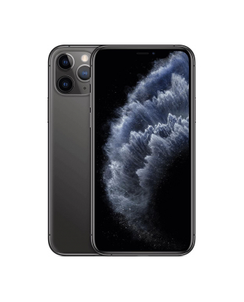 Smartfon Apple iPhone 11 Pro 64GB Space Gray (5 8 ; HDR  OLED Multi-Touch  Super Retina XDR  Technologia True Tone; 2436x1125; 4GB; 3190mAh)