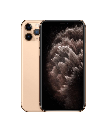 Smartfon Apple iPhone 11 Pro 64GB Gold (5 8 ; HDR  OLED Multi-Touch  Super Retina XDR  Technologia True Tone; 2436x1125; 4GB; 3190mAh)