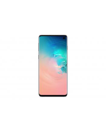 samsung electronics polska Smartfon Samsung Galaxy S10 128GB Prism Silver (6 1 ; Dynamic AMOLED; 3040x1440; 8GB; 3400mAh)