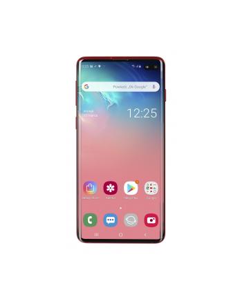 samsung electronics polska Smartfon Samsung Galaxy S10+ 128GB Cardinal Red (6 4 ; Dynamic AMOLED; 3040x1440; 8GB; 4100mAh)