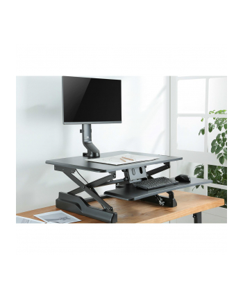 Uchwyt biurkowy do monitora Maclean MC-853 (biurkowy; 17  - 32 ; max 8kg)