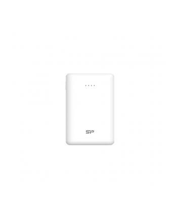Power Bank Silicon Power Cell C10QC SP10KMAPBKC10QCW (10000mAh; Micro USB typ B; kolor biały)
