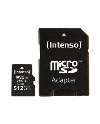 Intenso microSD 512GB UHS-I Prem CL