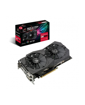 ASUS Radeon RX 570 ROG STRIX OC GAMING, graphics card (HDMI, Display Port, DVI-D 2x)