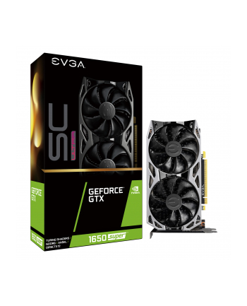 EVGA GTX 1650 ULTRA SUPER SC, graphics card (1x HDMI, Display Port 1x, 1x DVI-D)