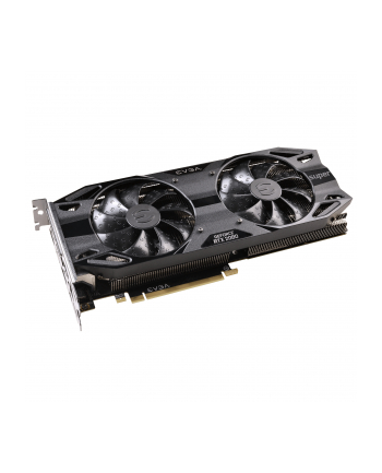 EVGA GeForce RTX 2080 SUPER BLACK GAMING, graphics card(3x DisplayPort, 1x HDMI, USB C)