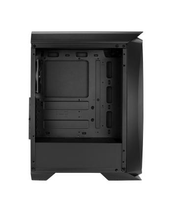 AeroCool One Black, tower case(black, Tempered Glass)