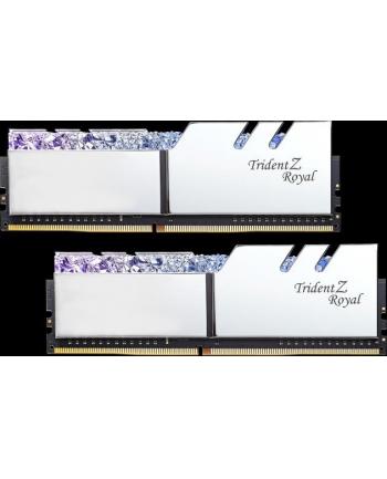 G.Skill DDR4 - 32GB -3600 - Cl - 14 - Quad Kit, Trident Z Royal (silver, F4-3600C14Q-32GTRSB)