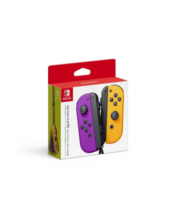 Nintendo Joy-Con set of 2, motion control(neon purple / neon orange)