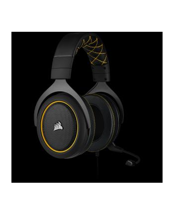 Corsair HS60 Pro Headset(black / yellow)