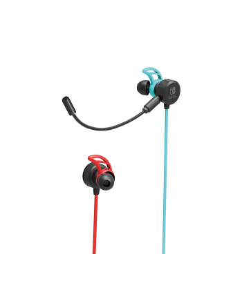 HORI Gaming Earbuds PRO headset (neon red / neon-blue)