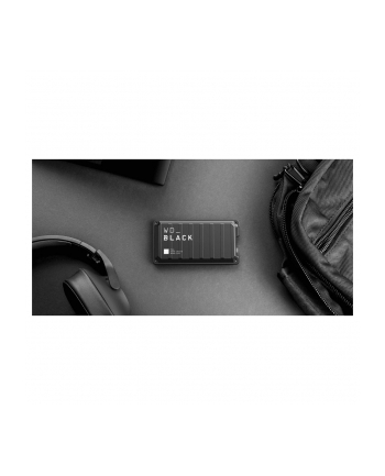 WD Black P50 Game Drive 500 GB Solid State Drive (black, USB 3.2 C (10 Gbit / s))