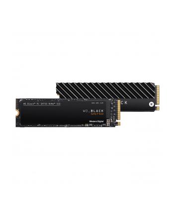 Dysk WD Black SN750 WDS100T3XHC (1 TB ; M2; PCIe NVMe 30 x4)