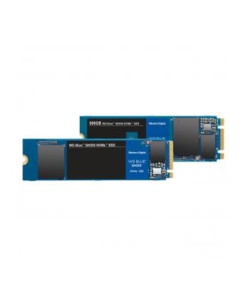 Dysk WD Blue SN550 WDS500G2B0C (500 GB ; M2; PCIe NVMe 30)