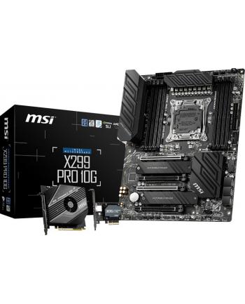 MSI X299 PRO 10G - Socket 2066 - motherboard