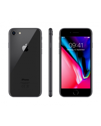 Apple iPhone 8 128GB, phone (Space Gray, iOS) MX162ZD/A