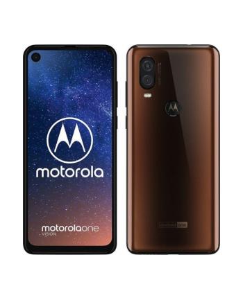 Lenovo Motorola One Vision - 6.6 - 128GB - Android - bronze, Dual SIM