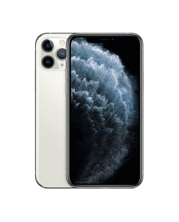 Smartfon Apple iPhone 11 Pro 256GB Silver (5 8 ; HDR  OLED Multi-Touch  Super Retina XDR  Technologia True Tone; 2436x1125; 4GB; 3190mAh)