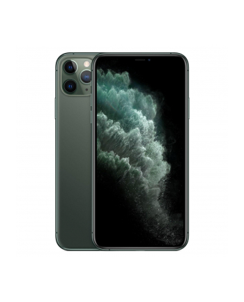 Smartfon Apple iPhone 11 Pro 256GB Midnight Green (6 5 ; HDR  OLED Multi-Touch  Super Retina XDR  Technologia True Tone; 2688x1242; 4GB; 3969mAh)