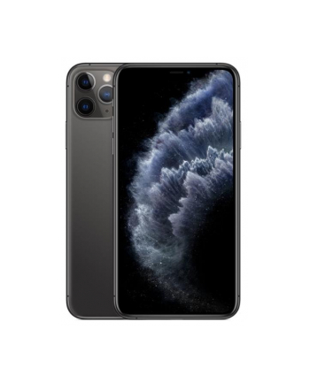Smartfon Apple iPhone 11 Pro Max 256GB Space Gray (6 5 ; HDR  OLED Multi-Touch  Super Retina XDR  Technologia True Tone; 2688x1242; 4GB; 3969mAh)