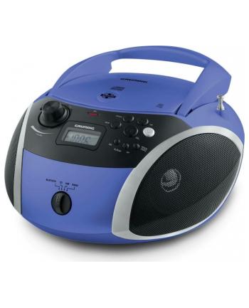 Grundig GRB 3000, a CD player(blue / silver, FM radio, CD-R / RW, Bluetooth)