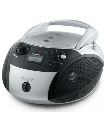 Grundig GRB 3000, CD Player(silver / black, FM radio, CD-R / RW, Bluetooth)
