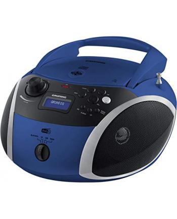 Grundig GRB 4000, a CD player(blue / silver, FM / DAB + radio, CD-R / RW, Bluetooth)