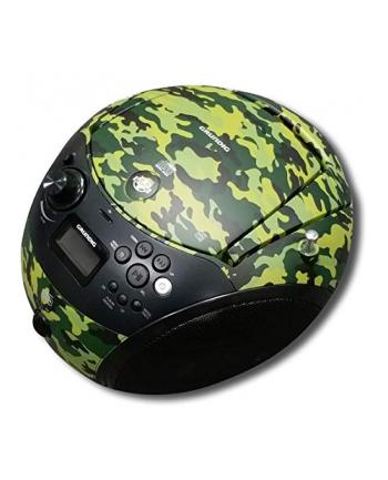 Grundig GRB 4000, CD players(camouflage / black, FM / DAB + radio, CD-R / RW, Bluetooth)