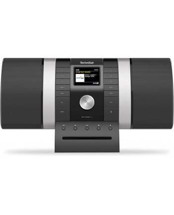 TechniSat MultyRadio 4.0, Internet radio(black / silver, WiFi, Bluetooth, CD, Alexa)