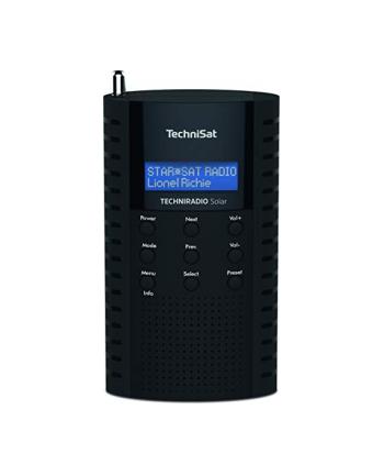 TechniSat TECHNIRADIO Solar(black, DAB +, FM)