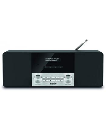 TechniSat DIGITRADIO 4, clock radio(black / silver, FM, DAB / DAB +, pawl)
