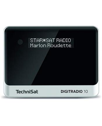 TechniSat DIGIT RADIO 10, adapter(black / silver, OLED, FM, DAB / DAB +)