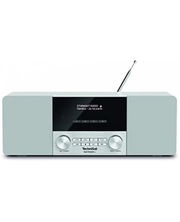 TechniSat DIGIT RADIO 4, clock radio(white, FM, DAB / DAB +, jack)