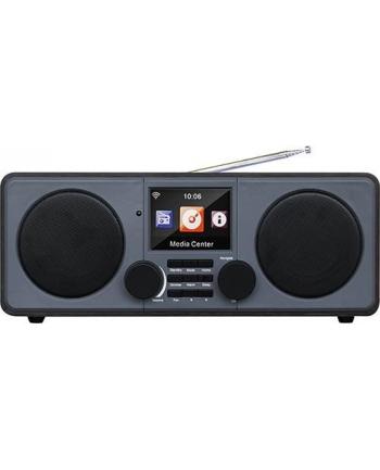 Xoro DAB 600 IR V2, Internet radio(brown / gray, WiFi, DAB +, FM, USB, jack)