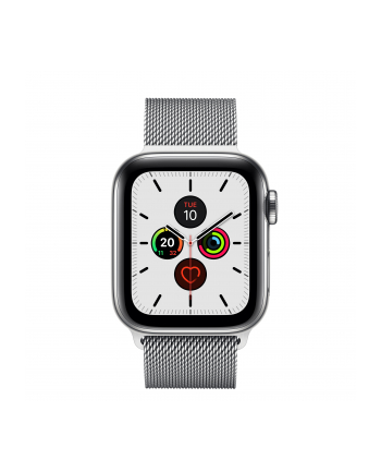 Apple Watch S5 Milanese bracelet 40mm silver - Milanaise MWX52FD / A