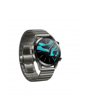 Huawei Watch GT2 46mm Elite, SmartWatch(titan, Bracelet: Titanium Gray, metal)