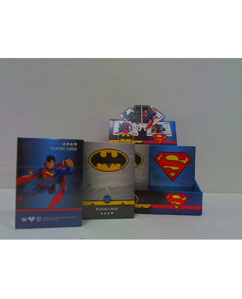 cartamundi Karty do gry Batman Superman PC mix 10004680 17711