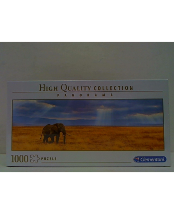 clementoni CLE puzzle 1000 Panorama HQ Lost 39484
