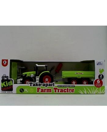 gazelo Traktor z przyczepą do skręcania G122891 15178