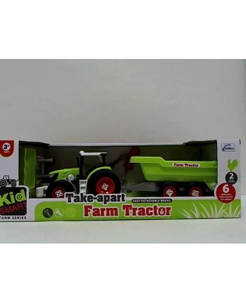 gazelo Traktor z przyczepą do skręcania G122890 15215