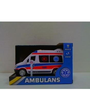 hero Auto ambulans św/dźw 20cm 69009 90097