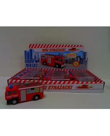 Wóz strażacki 11cm z głosem j.polski HKG100 27464